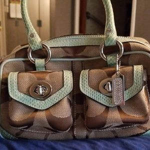 Coach Purse Gently Used (small)